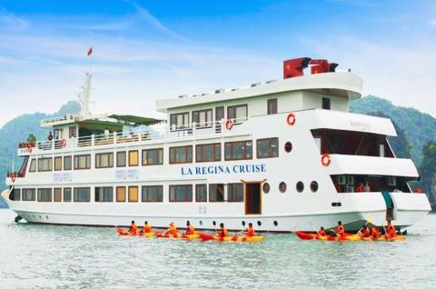 Du thuyền Hạ Long 5 sao La Regina Royal Cruise 2 ngày 1 đêm Ưu đãi