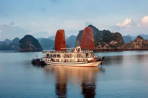 Du thuyền Hạ Long 2 ngày 1 đêm - Tàu Apricot Cruise 3 sao