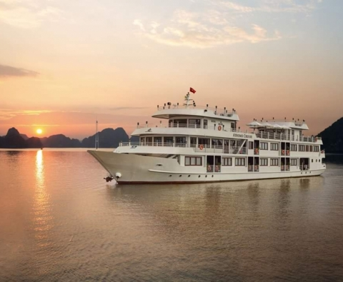 Du thuyền Hạ Long 5 sao Athena Luxury Cruise 2 ngày 1 đêm Ưu đãi