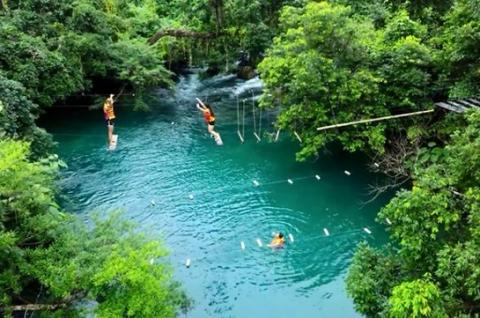 Tour ghép Quảng Bình Quảng trị: Nhật Lệ Động Thiên Đường Suối Mooc - Vũng Chùa - Vĩnh Mốc