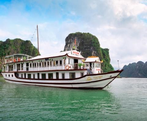 Du thuyền hạ Long 3 sao tại Hạ Long Cozybay Cruise