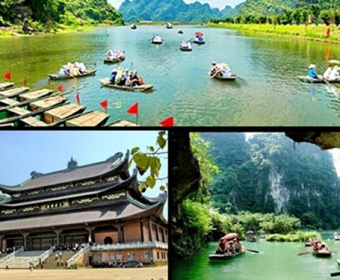 HANOI - TRANG AN ECOTOURISM TOURSIM - BAI DINH PAGODA (1 DAY)