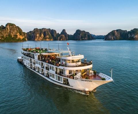 Du lịch Hạ Long trên du thuyền 5 sao Dynasty Cruise