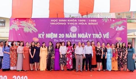 Trường THCS Hòa Bình học sinh khóa 1995-1999