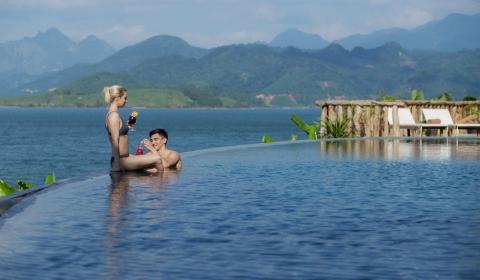 Kỳ nghỉ tại Mai Chau Hide Away Thiên đường xanh giữa lòng hồ Hòa Bình