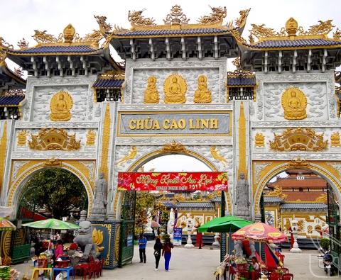 Tour du lịch Chùa Cao Linh, Bạch Đằng Giang Chùa Hang Đền Bà Đế