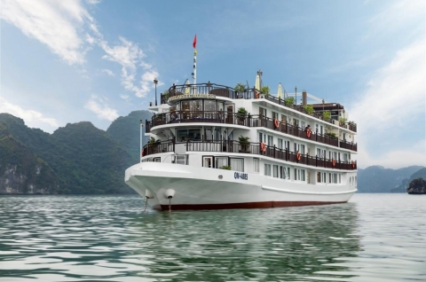 Du thuyền Hạ Long Margaret Cruises 5 sao ll Your Vacation Travel