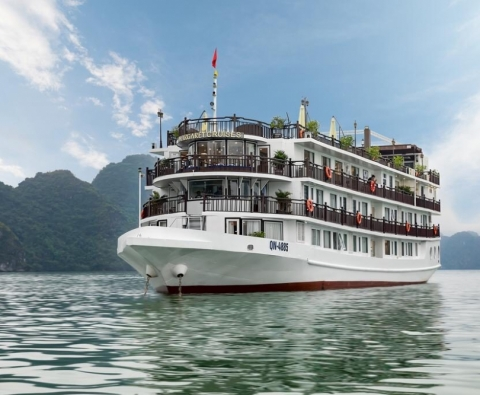 Du thuyền Hạ Long Margaret Cruises 5 sao ll Your Vacation Travel