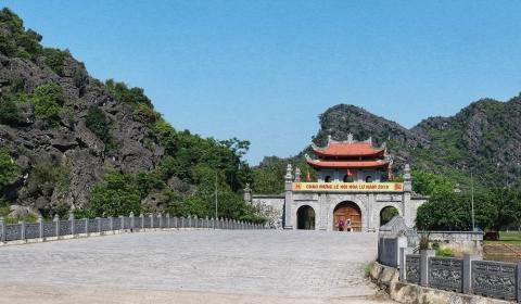 Khu Di tích lịch sử - văn hóa Cố đô Hoa Lư tạm thời dừng đón khách từ sáng ngày 11/3