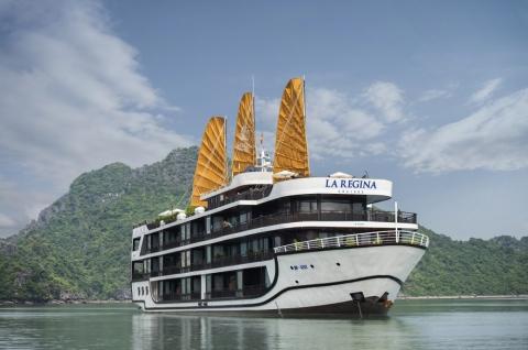 Du thuyền 5 sao tại Vịnh Lan Hạ Laregina Legend Cruise 2 ngày 1 đêm