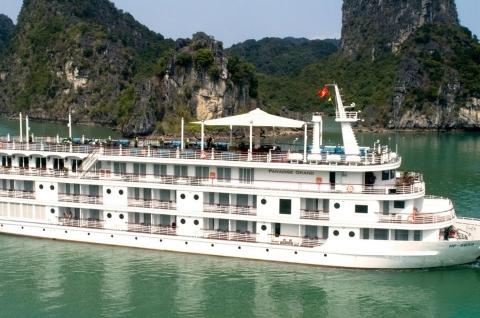 Du thuyền 5 sao tại Hạ Long Cát Bà Paradise Grand 2 ngày 1 đêm