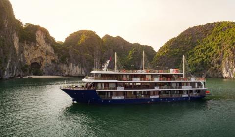 Khám phá du thuyền 5 sao La Pandora Cruise với nhiều ưu đãi mùa du lịch Nội Địa