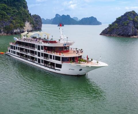 Du lịch Lan Hạ trên Du Thuyền Aspira Cruise 5 sao