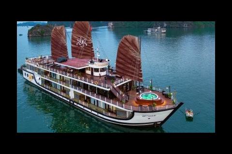 Khám phá Vịnh Lan Hạ trên Du thuyền 5 sao Orchid Cruise