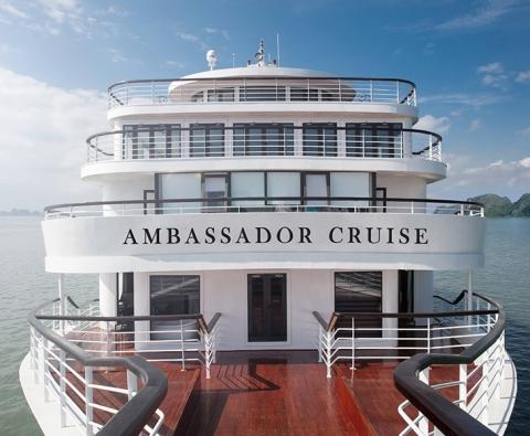 Du thuyền Hạ Long 5 sao Ambassador Cruise