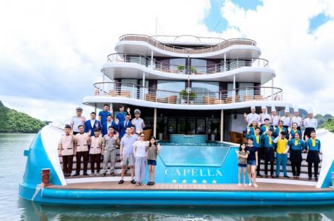 Du lịch Cát Bà trên du thuyền 5 sao Capella Cruise