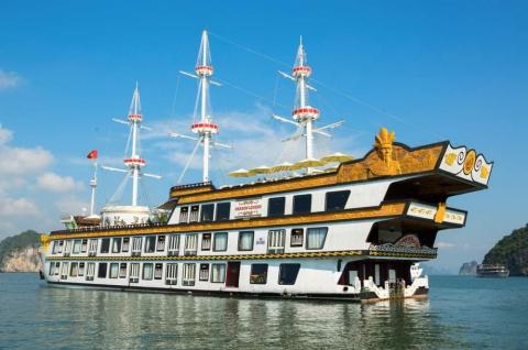 Du thuyền Hạ Long 5 sao Dragon Legend Cruise
