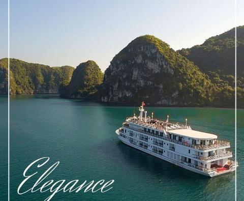 Du thuyền Hạ Long Paradise Elegance Cruise 2 ngày 1 đêm Ưu đãi