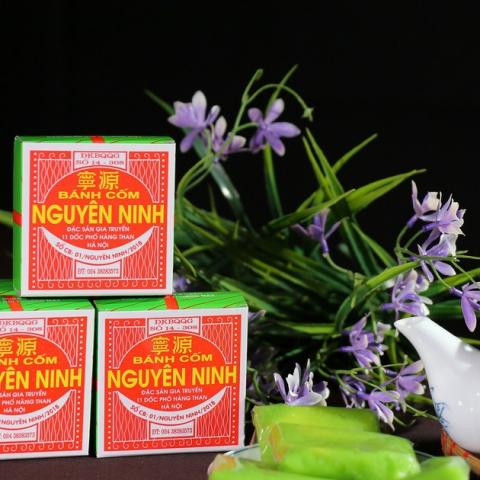 Đặc sản Hà Nội: Bánh cốm Nguyên Ninh