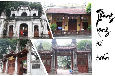 Du lịch Hà Nội: Tour Thăng Long Tứ Trấn 1 ngày