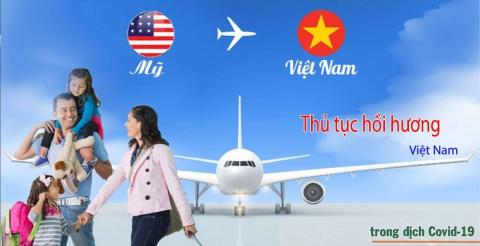 Cập nhật lịch chuyến bay hồi hương các nước cho người Việt và Chuyên gia
