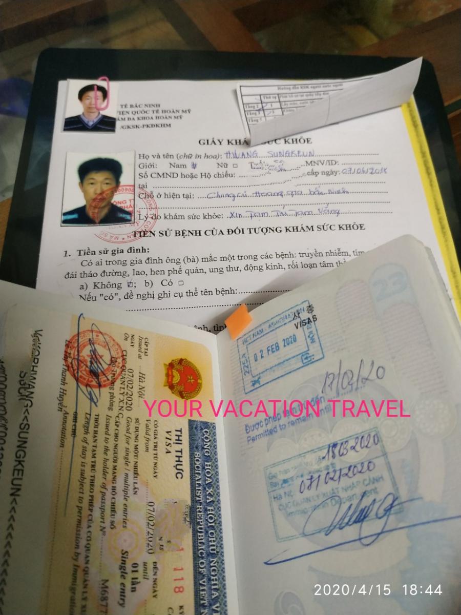 Vietnam Visa Extension
