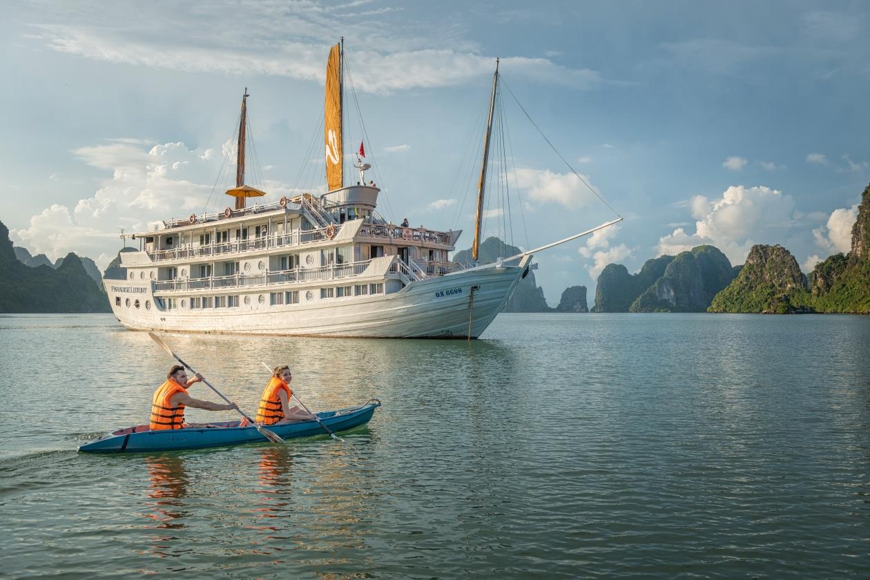 du thuyền Paradise Cruise